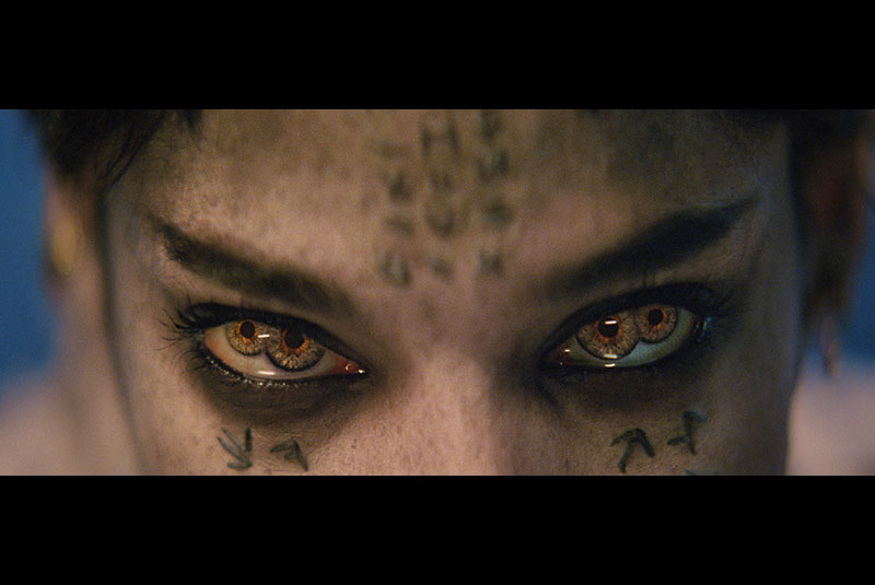 I only have eyes for you: Sofia Boutella plays Egyptian Princess Ahmanet, mummified alive for her sins, now back in business. (Photos courtesy of United International Pictures.)