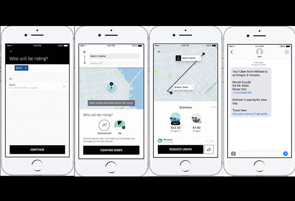Uber now lets you 'Request for a Loved One' | Philstar com