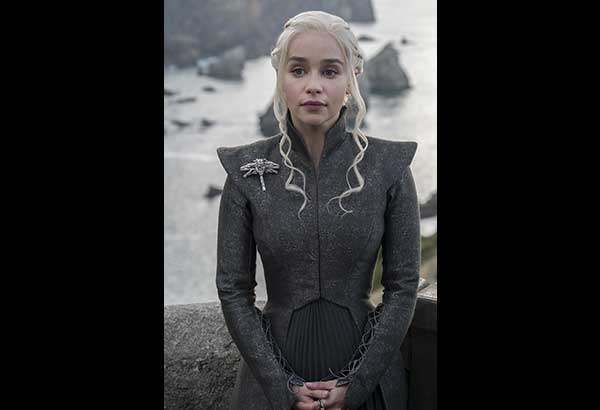 Mother of dragons: Emilia Clarke back as Daenerys Targaryen in Game of Thrones