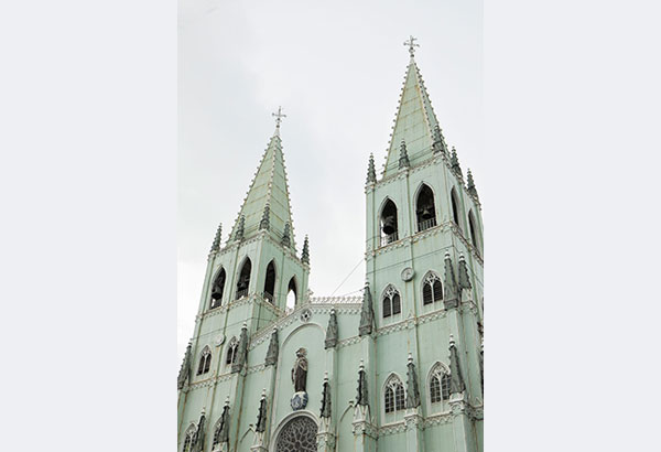 The seemingly simple San Sebastian Basilica was disguised to hide its all-metal nature and made to look like other Neo-Gothic churches. Because of natural factors, the church is now experiencing structural complications. Photos by Miguel Nacianceno