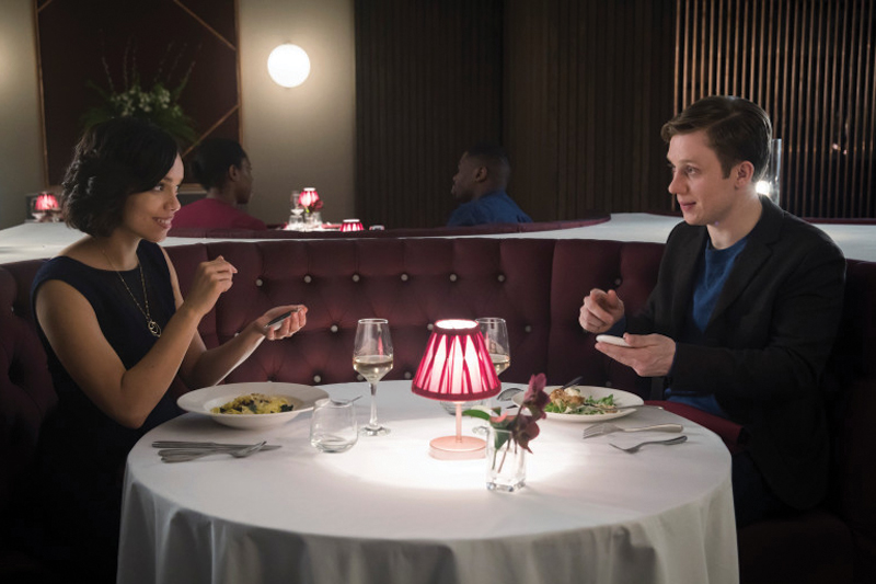 "Black Mirror Season 4's most-talked about episode is ""Hang the DJ""— which tells the story of two people who fall in a love in a mysterious world that's run by a dating algorithm system."