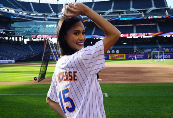 Miss Universe got a sporty side, too! Instagram/Miss Universe