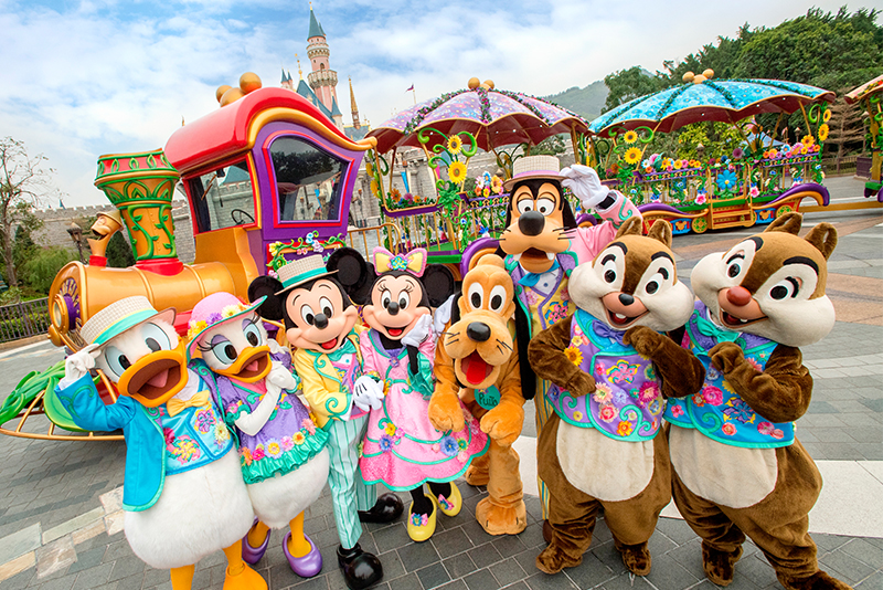 This spring, Hong Kong Disneyland resort has launched its largest-ever character-centric springtime celebration.