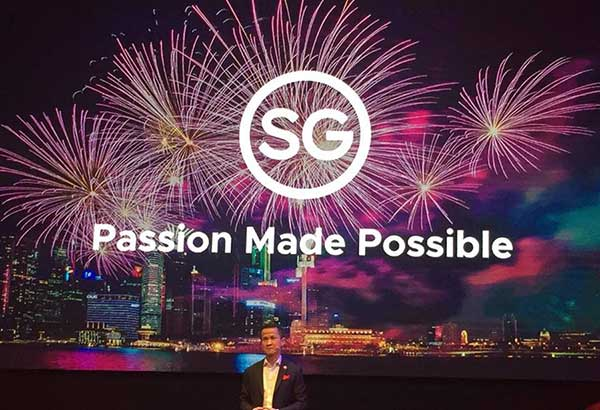 """Singapore Tourism Board chief executive Lionel Yeo unveils STB's new tourism campaign, """"Passion Made Possible,"""" a brand that articulates what Singapore stands for as a country, and tells many stories about this destination and its people."""