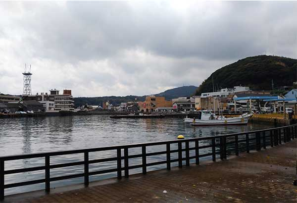 The port of Hirado nurtured international trade which traces back to the age of the Wokou pirates. Philstar.com/Patricia Lourdes Viray