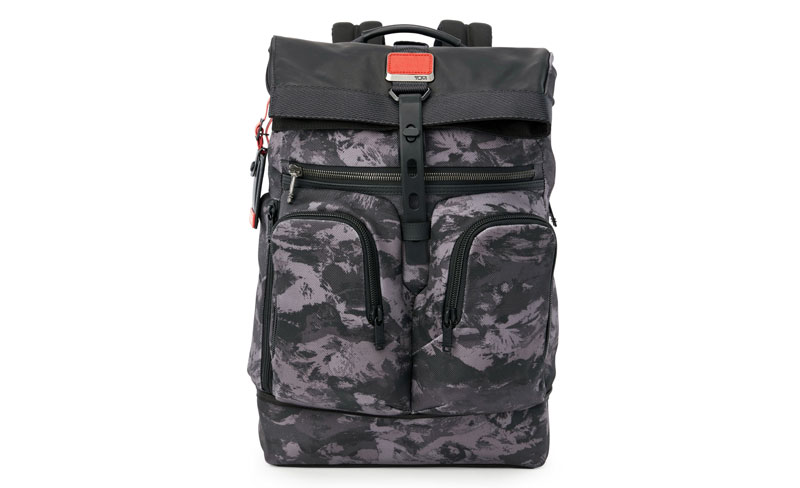 547bf224c91 Alpha Bravo Rondo Rolltop Backpack in Charcoal Restoration. ""