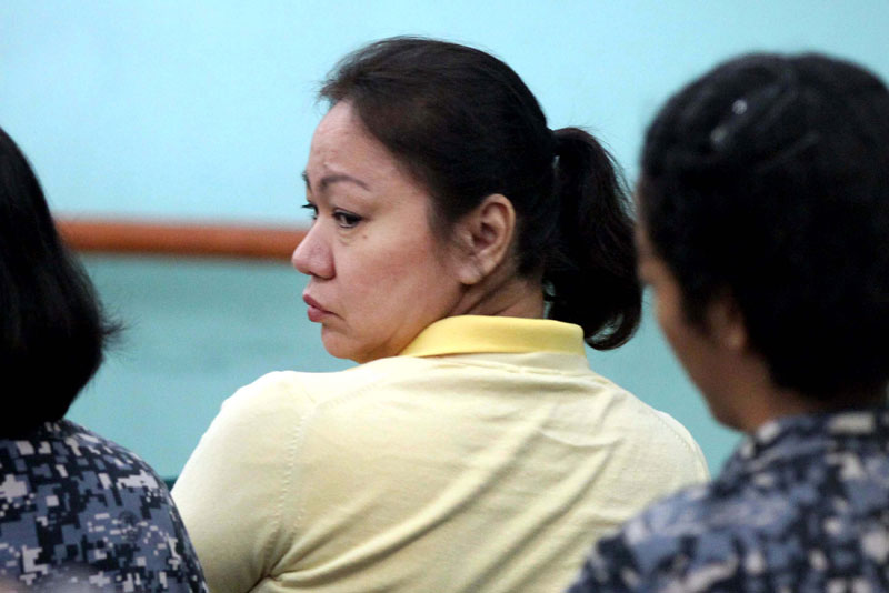 Sandiganbayan orders Napoles' detention in BJMP in Taguig City