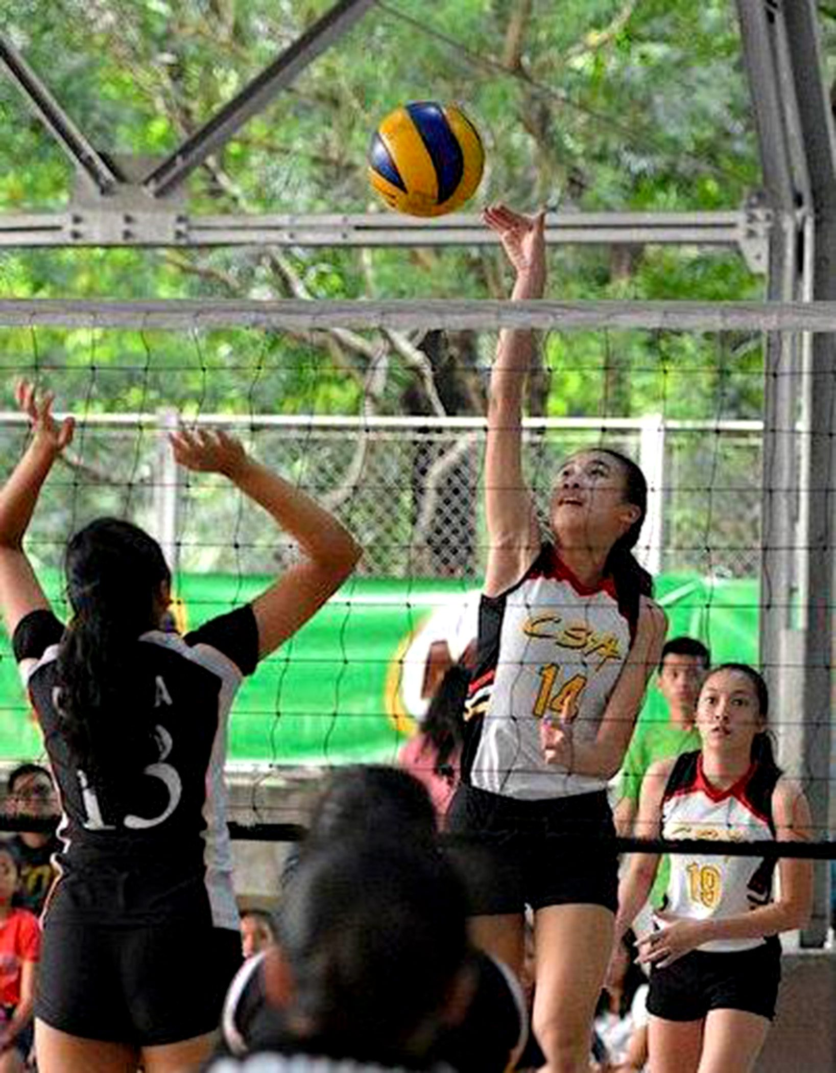 Action in the Women's Volleyball League heats up with the staging of the semifinal round.