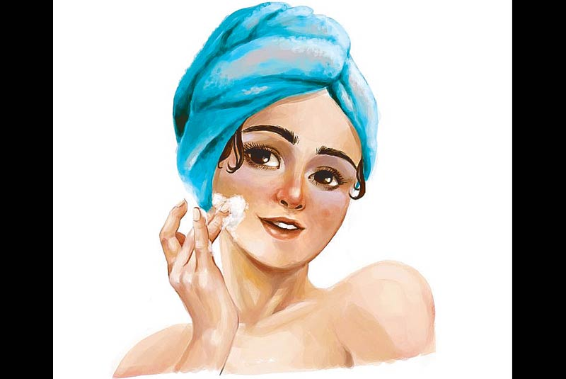 A primer on simplifying your beauty regimen for maximum results. Illustration by JENG LANUZA