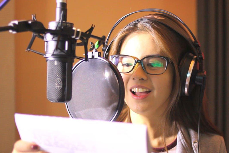 Bea Binene lends voice to Voltes V's Jamie Robinson