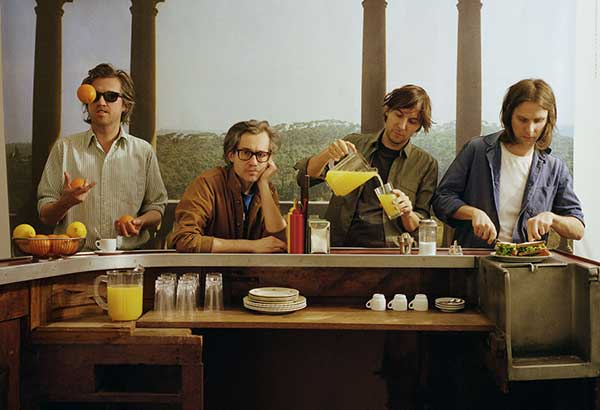 Fresher than you: Phoenix bassist Deck D'arcy says that they don't really know where the inspiration for their music comes from, they just know if what they make is good or not.