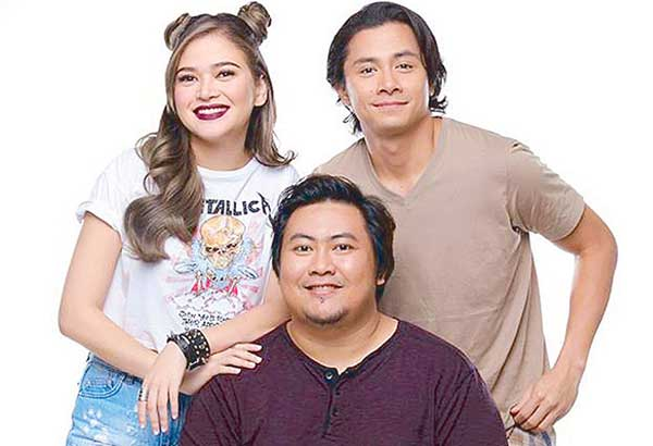 Direk Jason Paul Laxamana with Bela Padilla and JC Santos. A wide segment of audiences can relate to this well-made romantic film.