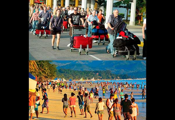 Despite martial law in Mindanao and other challenges, tourist arrivals increased by 12.7 percent in the first six months of the year.