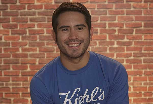 An angel with a cause: Gerald Anderson put up the Angel Dog Program, which trains therapy dogs for children with autism.