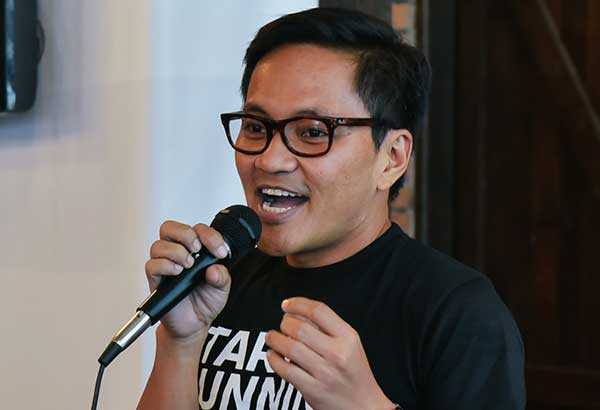 Filipino rock icon Ebe Dancel of Sugarfree. The STAR/File
