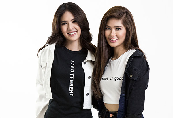 Different is good: Actresses Sofia Andres and Loisa Andalio are two of the local ambassadors of Penshoppe's #IAmDifferent campaign.