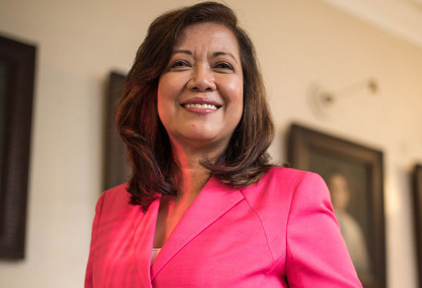 Ladies first: Chief Justice Sereno is the first woman to hold the highest position in the judiciary. Photo by Arabella Paner