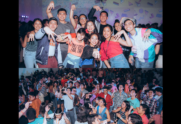 Last Friday night: UP JMA's New Wave party threw it back to the decade of decades, the '80s.