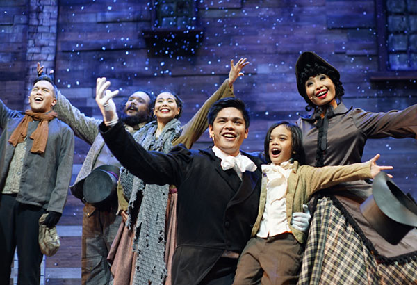 Christmas together: 9Works Theatrical hopes to embolden the Filipino Christmas spirit of family, forgiveness, and truth. Photo Courtesy of Jan Mayo