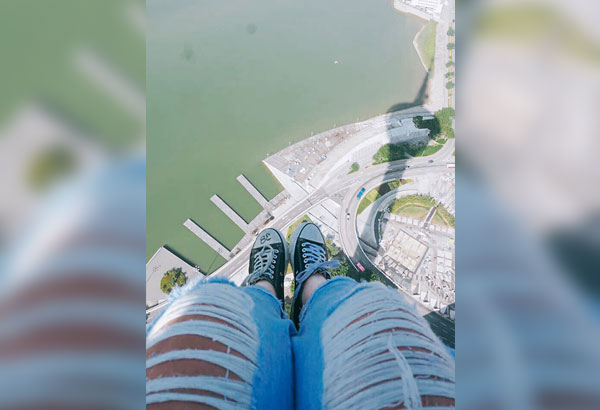Top of the world: Get a chance to sit at the edge of Macau Tower when you do the Skywalk.