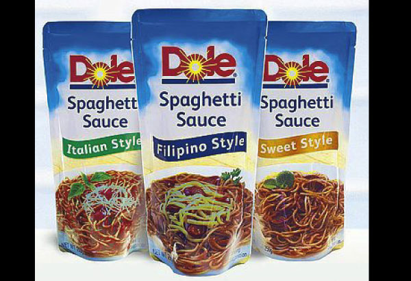 For A Healthy Tasty Heart S Day Dole Spaghetti Sauce Comes In Three Styles For Three Taste Preferences