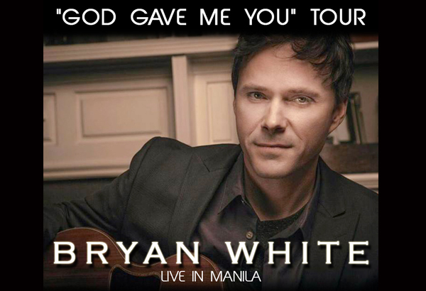 Promo: Win tickets to 'God Gave Me You' singer Bryan White's concert