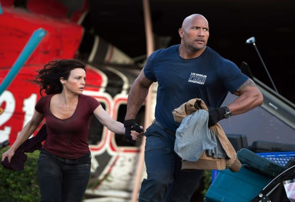 "Dwayne Johnson stars in ""San Andreas."" Handout/Warner Bros."