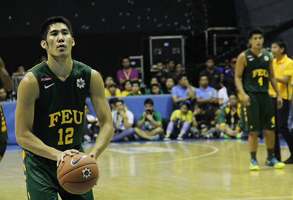 Mac Belo led the FEU Tamaraws with 16 points. File Photo