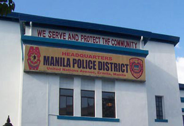 A Manila Police EOD team declared the area safe after the bomb turned out to be a hoax. File photo