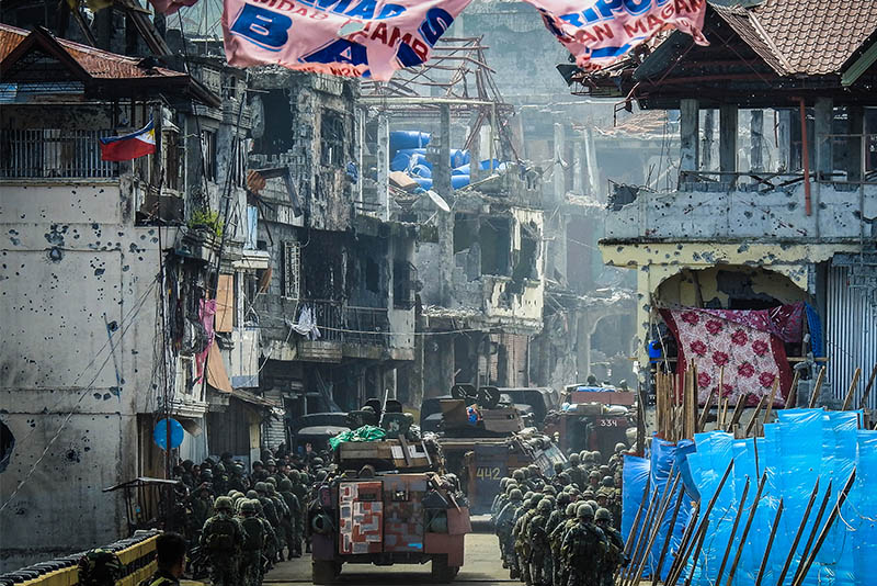 Mautes, 2 soldiers killed in Marawi clash