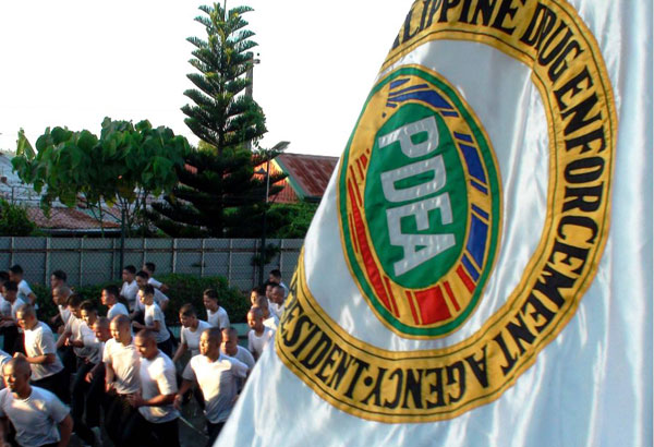 PDEA Caraga director Gilbert Buenafe seized the chemicals after a raid at the warehouse of Juchem Enterprises is Purok 1, No. 3 Pulido St., Doongan in this city.  File photo
