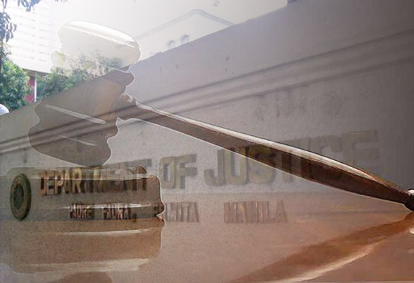 The Department of Justice said it would conduct random drug testing of its employees. Philstar.com/File