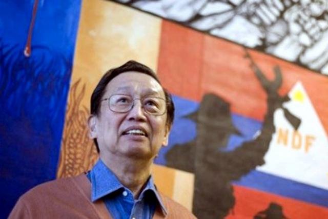"""菲共領導人西松對杜特蒂抱予極大的政治期望,但這是菲共的主流意見嗎?(圖片來源:<a href=""""http://www.philstar.com/headlines/2016/05/13/1582831/afp-mum-joma-sisons-plan-return-philippines"""">PhilStar.com</a>)"""