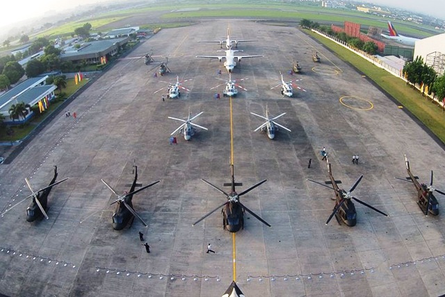 Director Arsenio Andolong, defense spokesman said big-ticket projects under Horizon 2 of the Revised Armed Forces of the Philippines Modernization Program (RAFPMP), which includes the acquisition of the attack helicopters, has no approved budget for contract as yet.PAF/Released, File photo