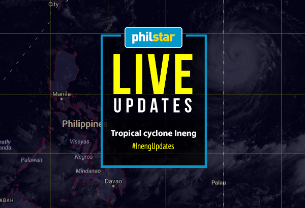 "Satellite image rendering from state weather bureau PAGASA's Met-Hydro Decision Support Information System showing tropical cyclone ""Goni"" (international name) about to enter the Philippine area of responsibility on Tuesday, Aug. 18, 2015. Philstar.com"