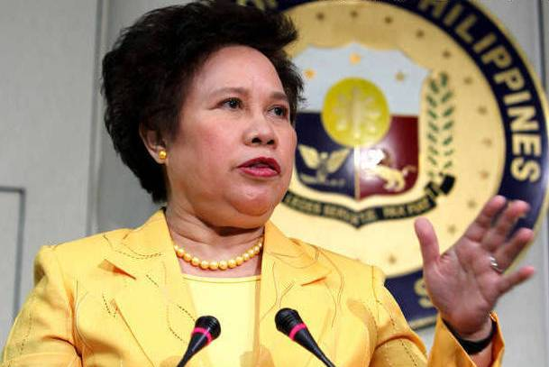 """Senator Miriam Defensor-Santiago love for country drove her to greatness and to serve with fervor and utmost dedication to her fellow Filipinos until death,"" Senator Grace Poe said. STAR/File"