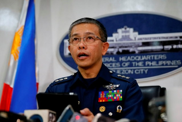 Armed Forces of the Philippines (AFP) spokesman Gen. Restituto Padilla broached the idea after the military affirmed reports of the presence of Chinese vessels near Pag-asa Island in the West Philippine Sea (WPS). AP/Bullit Marquez, File