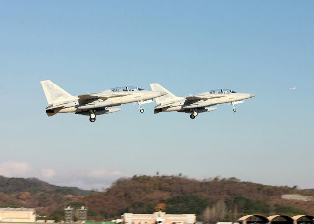Air Force receives 2 more fighter jets from Korea