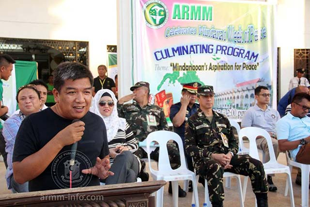Hataman armm needs good cops not 39 ninjas 39 nation news for Bureau zamboanga