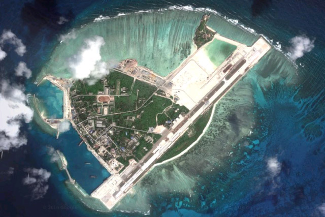 In an interview with reporters on Friday, Cayetano said China has not occupied any new area in the disputed region, noting that Beijing is not the only government conducting activities in areas being contested. Google Earth, File