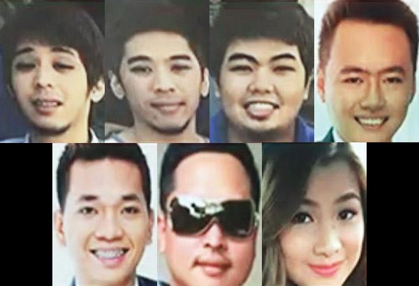 Clockwise from upper left: Terrence Kenji Ito, Theodore Yuji Ito ,Jake Ryu Oprecio ,Aldus Renier Tubiera ,Joanary Roxas ,Kent Ortiz and Edmer Maligaya