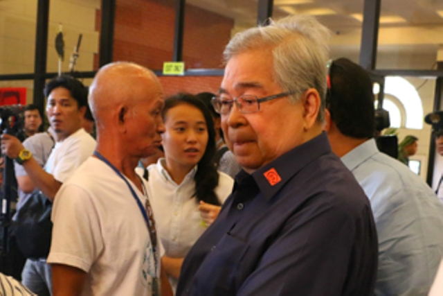 Former Presidential Commission on Good Government (PCGG) chairman Camilo Sabio was sentenced to up to 20 years' imprisonment as the Sandiganbayan found him guilty of two counts of graft over alleged anomalous car lease deals entered into with the United Coconut Planters Bank (UCPB) in 2007 and 2009. Efigenio Toledo IV/File