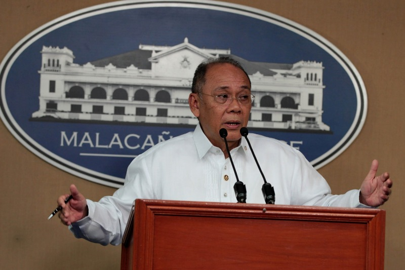 Presidential spokesman Ernesto Abella defended the police action as part of President Duterte's brutal campaign against illegal drugs. PPD/Robinson Niñal, File