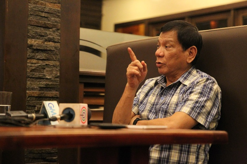 "President Rodrigo Duterte may be ready to resume talks with communists, but he is also prepared to ""flatten mountains"" to assert to the rebels that they cannot claim any part of Philippine territory to be theirs. PPD/Karl Alonzo"