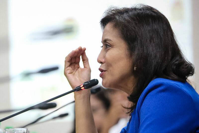 """""""For me, it would be good (if the Presidential Election Tribunal) will start the recount. Because until the issue is resolved, it would only give Marcos' supporters the right to claim that he's the real vice president,"""" Robredo said in an interview withdzMMon Tuesday. OVP/Released"""