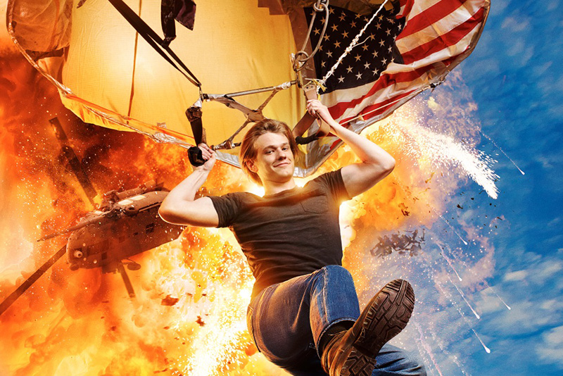 """""""MacGyver"""" this modern-day take is an action-adventure drama that features Angus """"Mac"""" MacGyver who forms a clandestine organization within the United States government."""