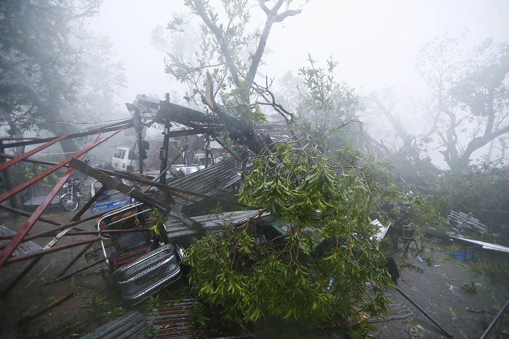 philippine typhoons A powerful storm that left a trail of death and destruction in the philippines was  downgraded to a tropical depression tuesday and failed to.