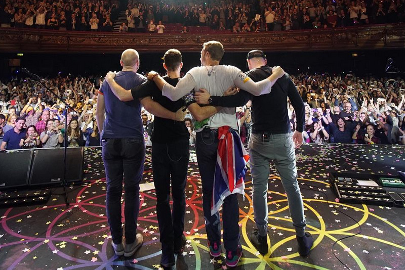 Coldplay to perform in Manila for the first time in April