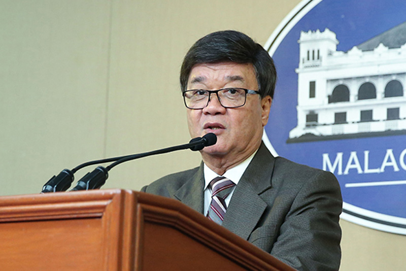 Justice Secretary Vitaliano Aguirre II wants more teeth in the implementation of Republic Act 8049 or the Anti-Hazing Law following the recent fatal hazing of University of Santo Tomas law freshman Horacio Castillo III. File