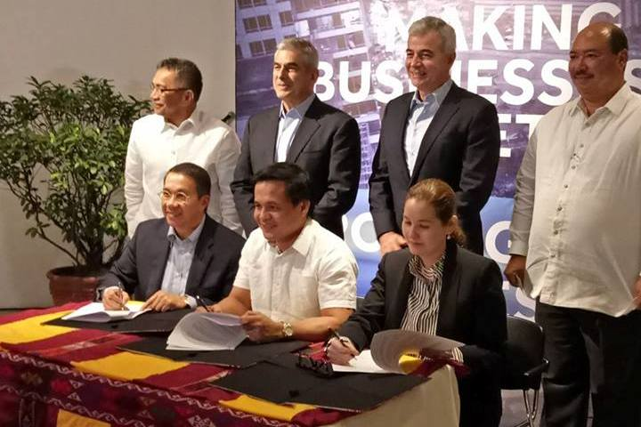 The signing of the cooperation deal on the construction of a drug rehabilitation center in Marawi City was held at the Ayala Museum in Makati City on Tuesday. Lanao del Sur Provincial Information Office